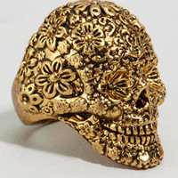 Disney Couture Jack Sparrow Skull Ring | Sugar Skull | fredflare.com