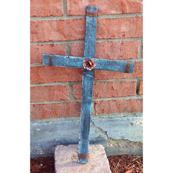 Rustic Wooden Cross- Cross sign