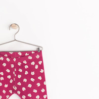 Printed leggings with lining