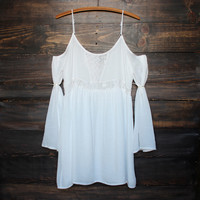 boho meadow crochet dress | ivory