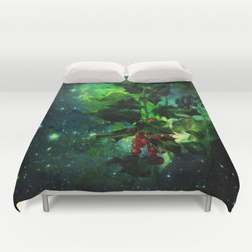 holly Duvet Cover by clemm