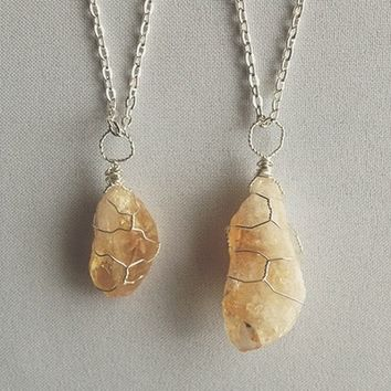 Transparent Citrine Necklace from Sightstone