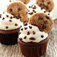 Chocolate Chip Cupcakes | Cute Cupcakes | CutestFood.com