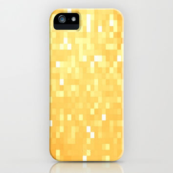 Golden Pixel Sparkle iPhone & iPod Case by 2sweet4words Designs
