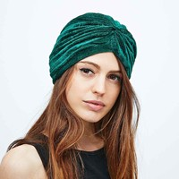 Urban Renewal Vintage Surplus Turban in Green - Urban Outfitters