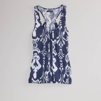 AE Printed Racer Tank | American Eagle Outfitters