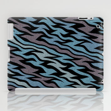 Ice Blue iPad Case by Alice Gosling