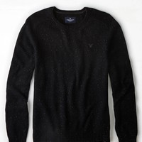 AEO Men's Crew Sweater (Bold Black)