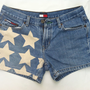 Denim TOMMY HILFIGER Star Shorts (Size 7)