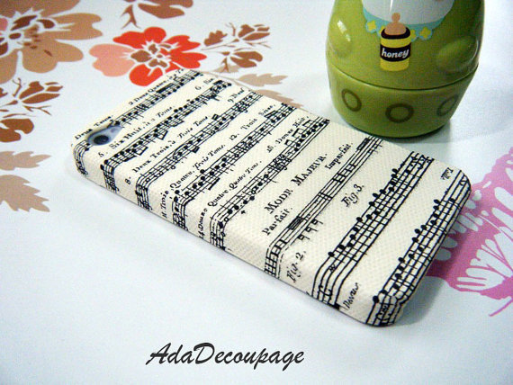 Music Lover - iPhone 4 Case , iPhone 4s Case , iPhone 3g , 3gs , Samsung galaxy S2 , Case Handmade