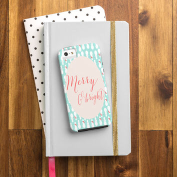 Allyson Johnson Merry And Bright Cell Phone Case