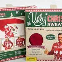 Unisex DIY Red Ugly Christmas Sweater Kit SYP4-019002B-RED