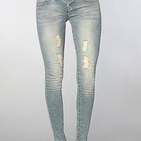 The Badlands Skinny Jean in Blue Storm