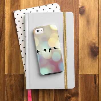 Shannon Clark Birds And Bokeh Cell Phone Case