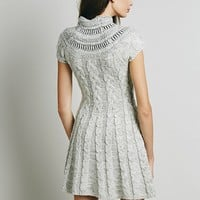 Free People Womens Nordic Nights Sweater Dress