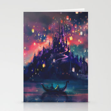 The Lights Stationery Cards by Alice X. Zhang