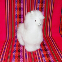 Peruvian Design Stuffed Andean Animals made of Alpaca Fur.