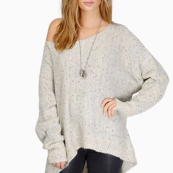 Alyssa Off Shoulder Sweater $47
