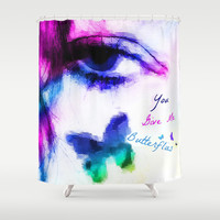 You Give me Butterflies... Shower Curtain by Christy Leigh | Society6