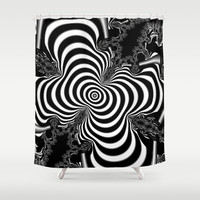 Hypnotizing Shower Curtain by Christy Leigh | Society6