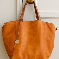 Day-cation Tote, Pumpkin - SOLD OUT