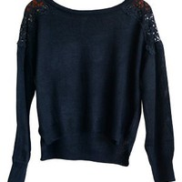 Macra May I Sweater, Black