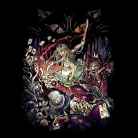 Zombies in Wonderland - Threadless.com - Best t-shirts in the world