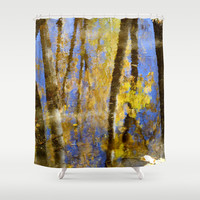Water dreams III Shower Curtain by Guido Montañés