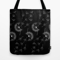 Dandelion Dancers Tote Bag by Lina Che