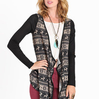 Winter Escapade Knit Cardi - $17.99: ThreadSence, Women's Indie & Bohemian Clothing, Dresses, & Accessories