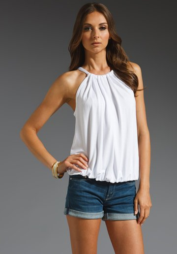 Trina Turk Imma Jersey Top in White from REVOLVEclothing.com