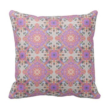 Faded Moroccan Pillow by KCS
