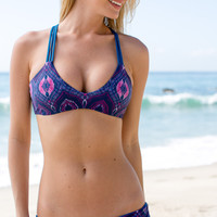 Mary Grace Swim - Vida Reversible Top / Sea Nymph - Sea Nympa/Deep Ocean /