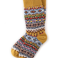 Festive Socks (Gold Rush)