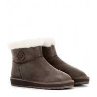michael michael kors - winter shearling ankle boots