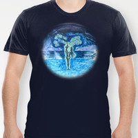 FOREVER - night T-shirt by Vargamari | Society6