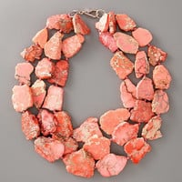 Pink Jasper Necklace