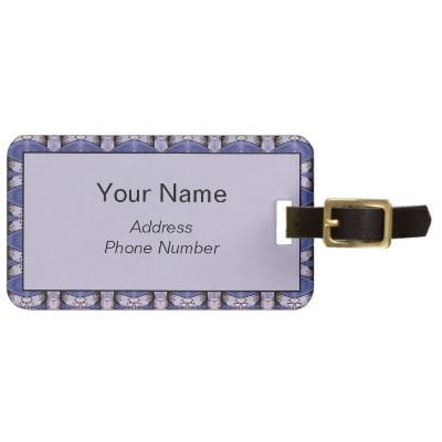 Aali Luggage Tag from Zazzle.com