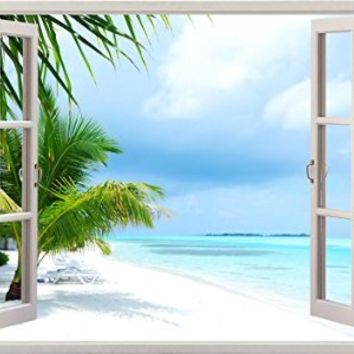 Relaxing Vacation Ocean Beach Sea Scape From Amazon
