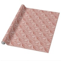Rose Diamonds Glossy Wrapping Paper by Janz