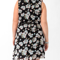 Floral Peter Pan Collar Dress