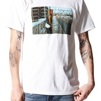 AMBIG Attached T-Shirt - Mens Tee - White