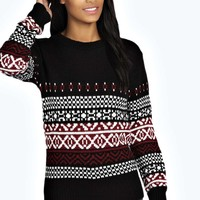 Alice Soft Knit Fairisle Jumper