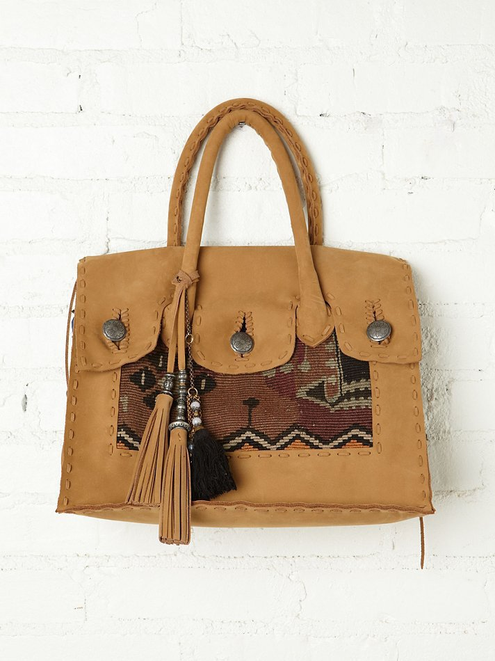Free People Casablanca Carpet Bag