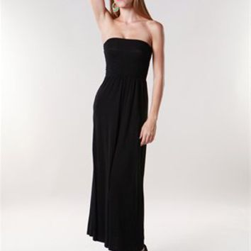 A'GACI Basic Smocked Maxi - New Arrivals