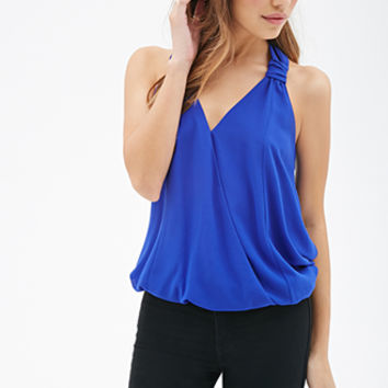 FOREVER 21 T-Back Surplice Top