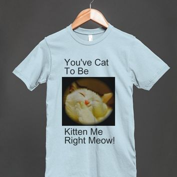 You've Cat to be Kitten | Fitted T-shirt | Skreened