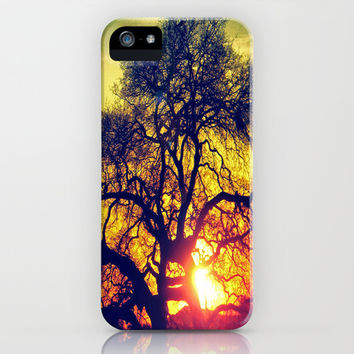 Through the trees iPhone & iPod Case by DuckyB (Brandi)