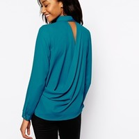 Warehouse Twist Back Shirt