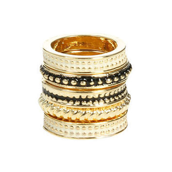 Studded Epoxy Stack Ring | Shop Junior Clothing at Wet Seal